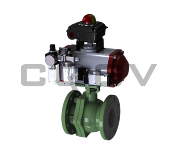 Floating Pneumatic ball valve