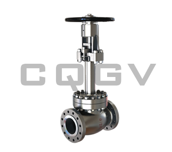 Cryogenic shut-off valve