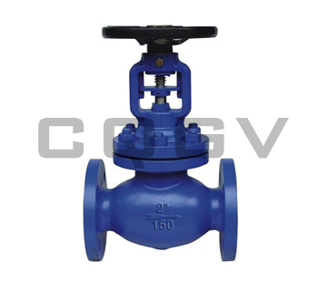 Bellows stop valve